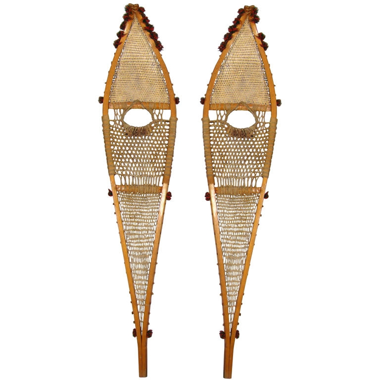 1930 Canadian Snowshoes