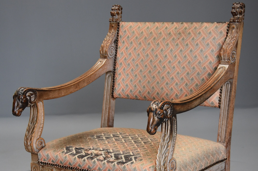 French Renaissance Style Chair ...