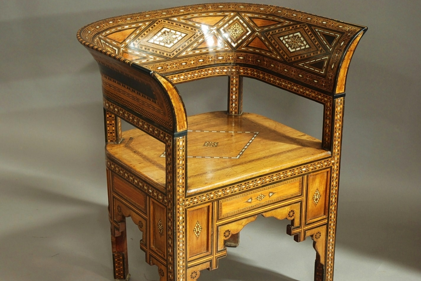 Middle Eastern Damascus Chair ...
