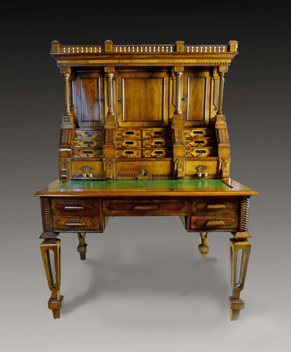 Antique Desk With Secret Compartments Price 49 140