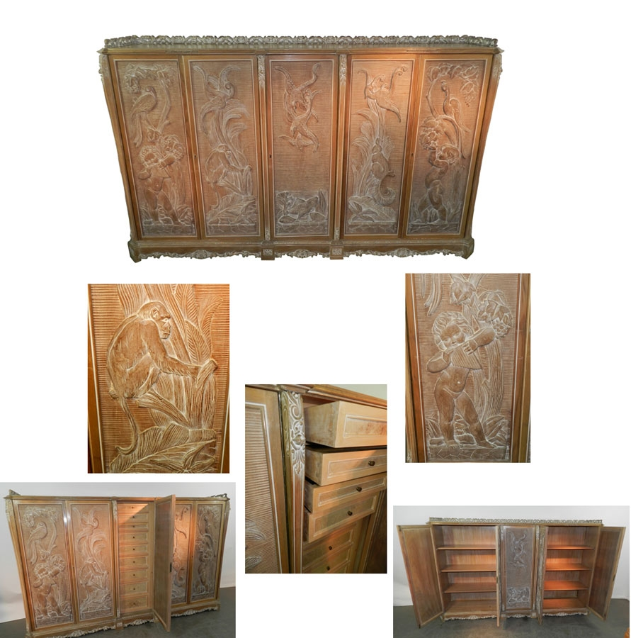 Art deco baroque cabinet trendfirst for Deco baroque