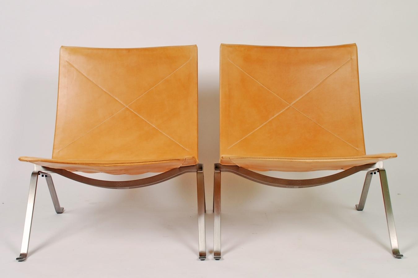 Poul Kjaerholm PK22 Chairs ...