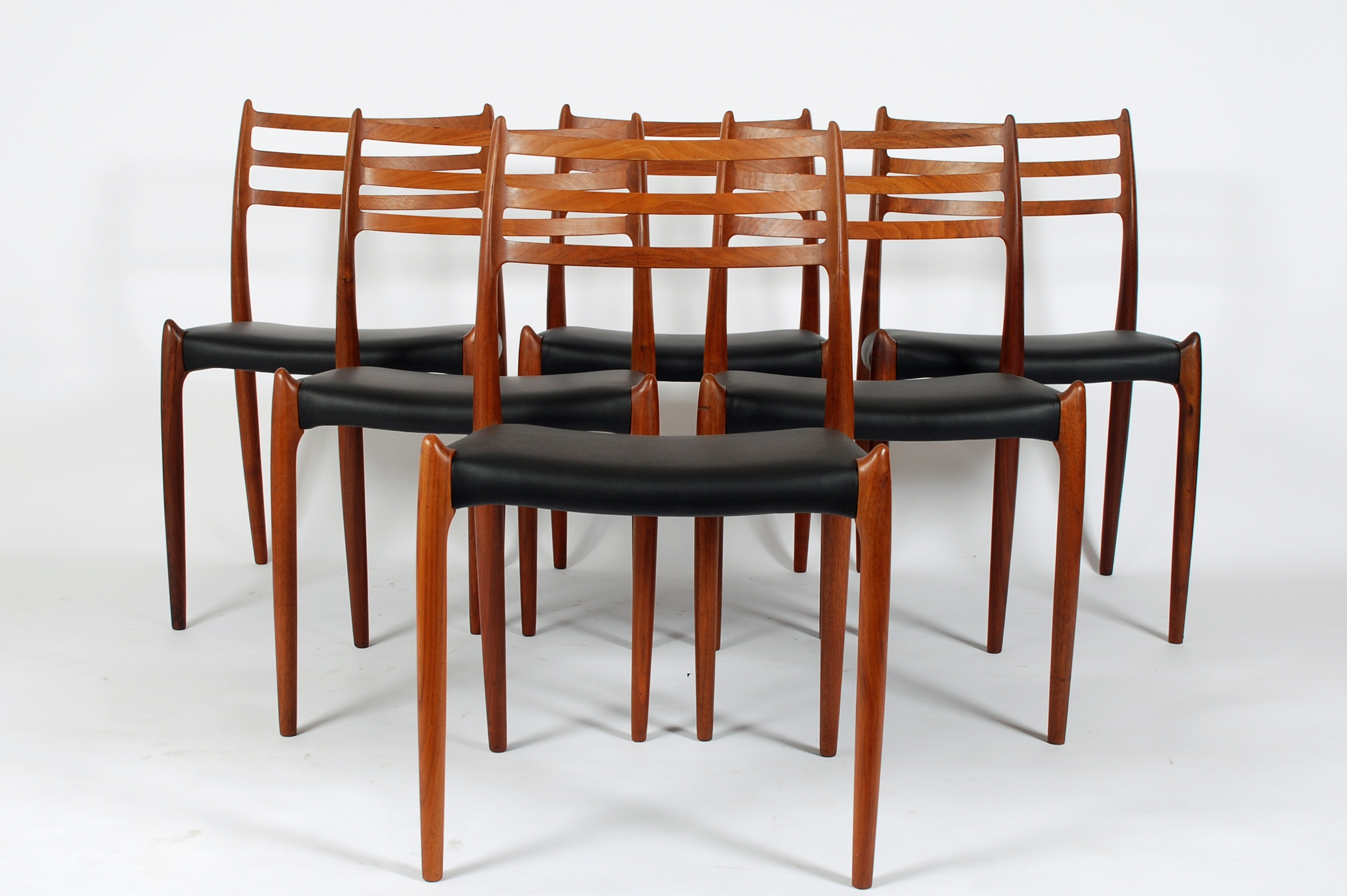 Chairs By N.O. Moller ...