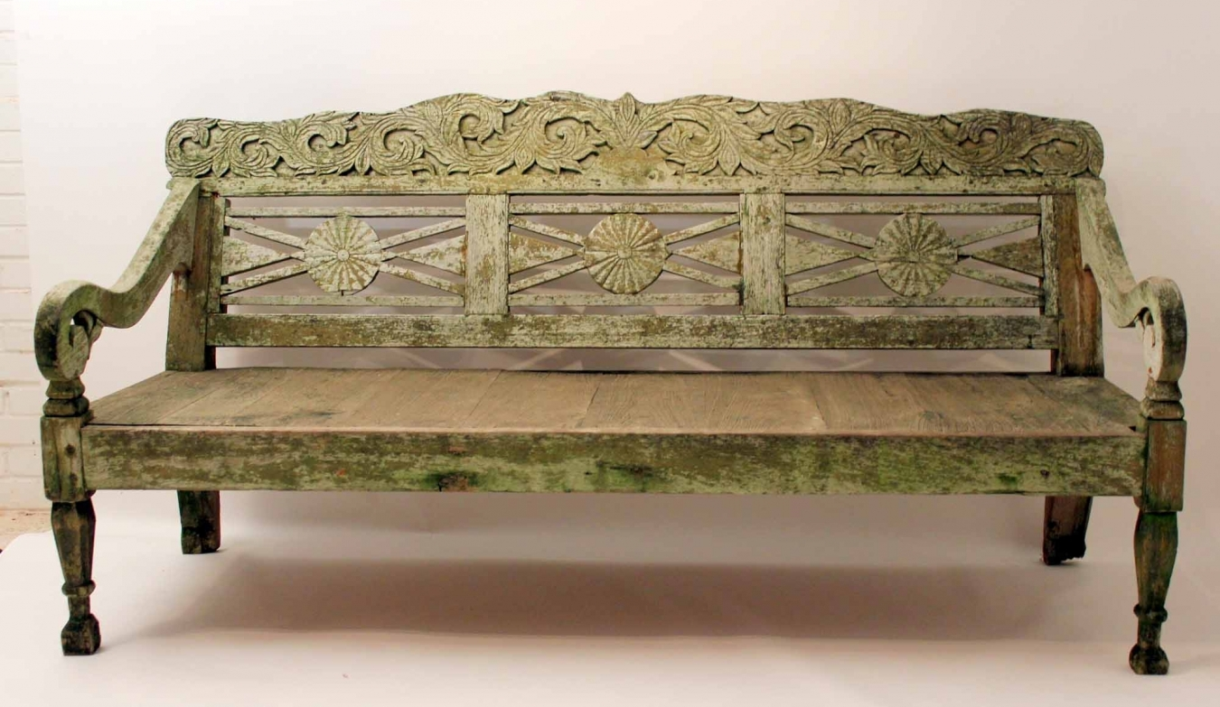 Astonishing Anglo Indian Garden Bench Trendfirst Machost Co Dining Chair Design Ideas Machostcouk