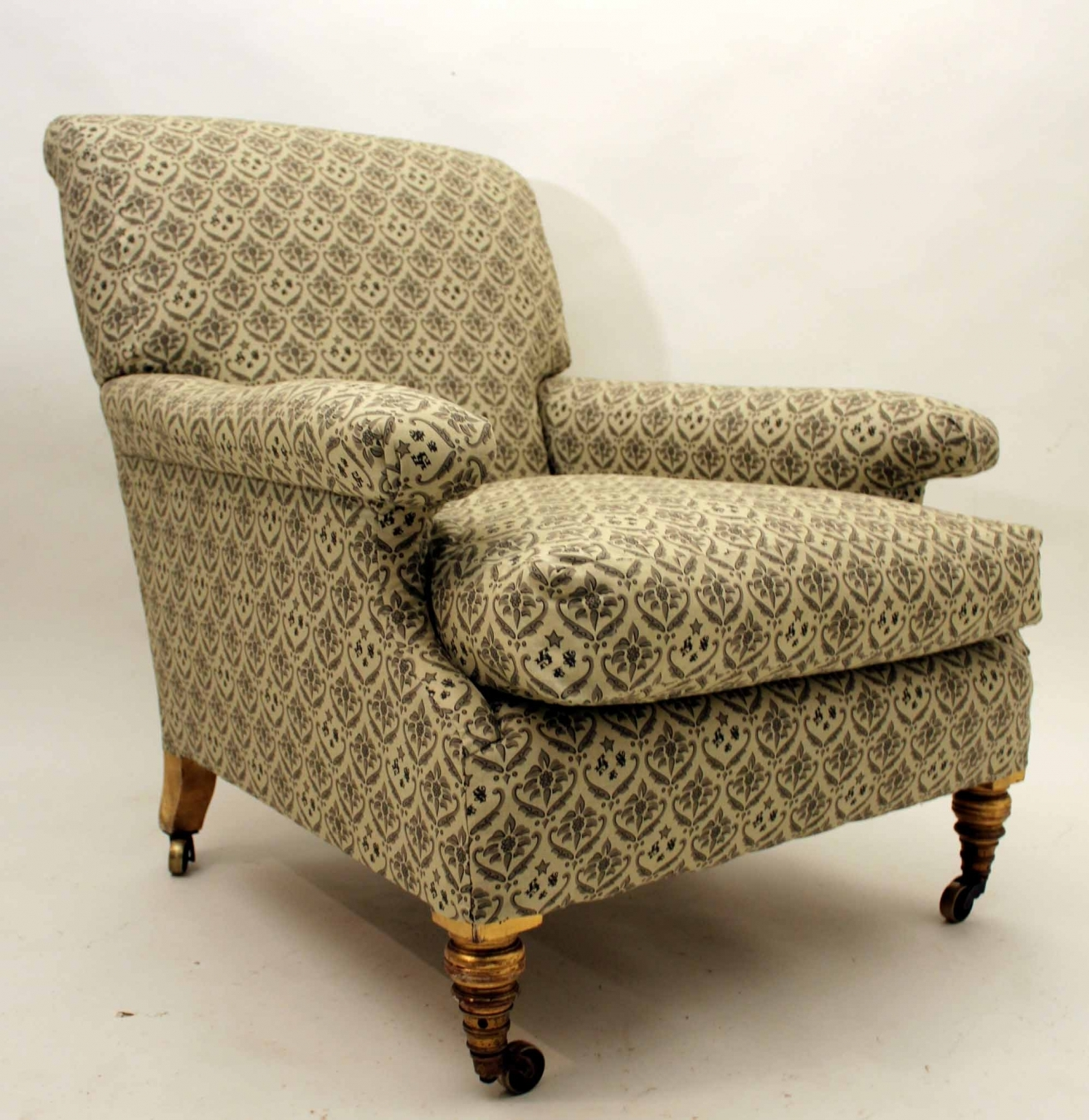 19C Howard & Sons Armchair | TrendFirst