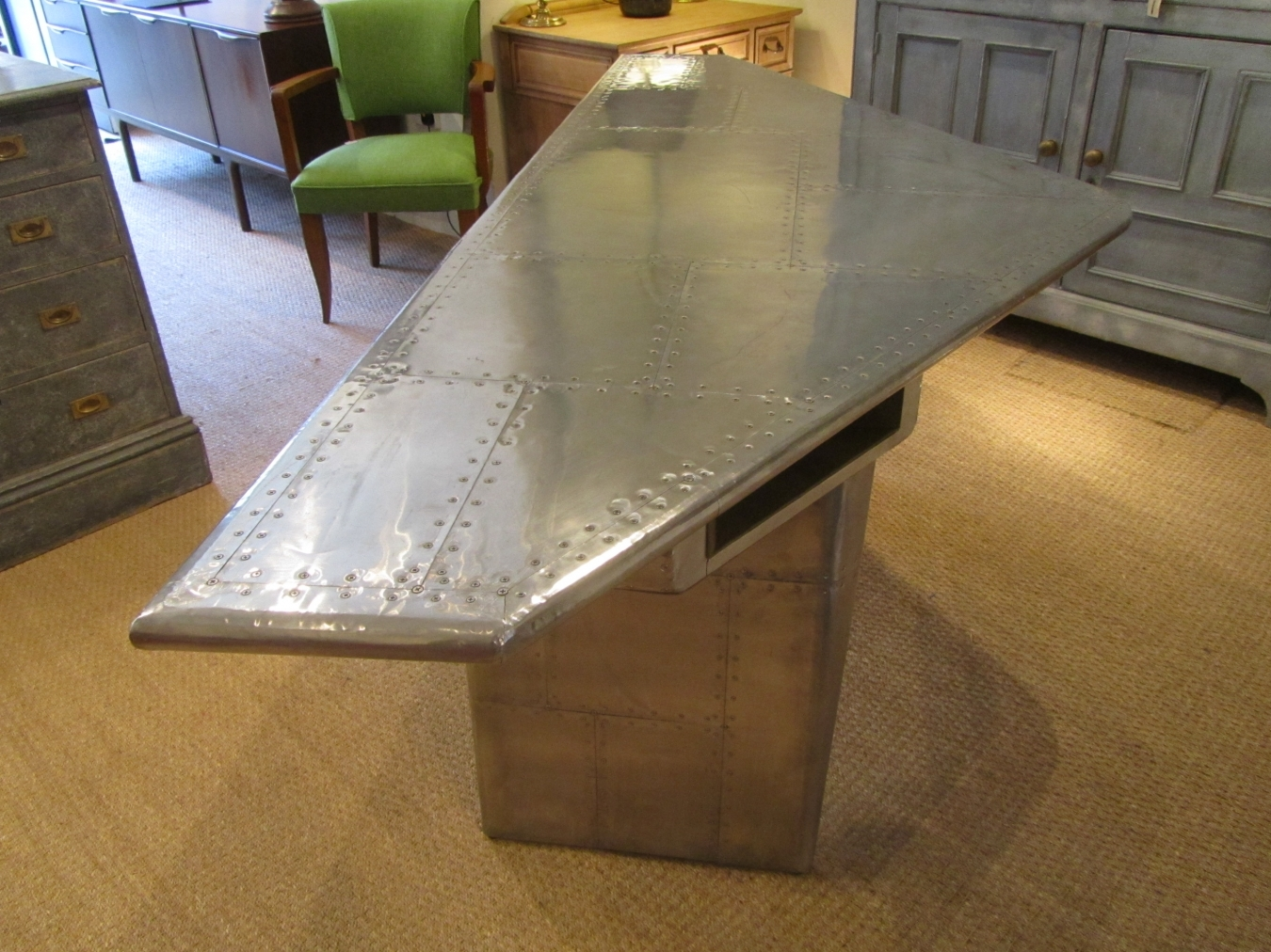Airplane Wing Desk ...