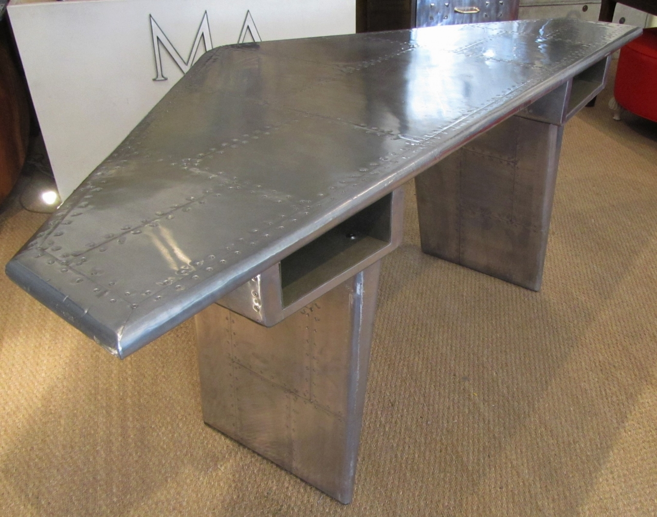 Delicieux ... Airplane Wing Desk ...