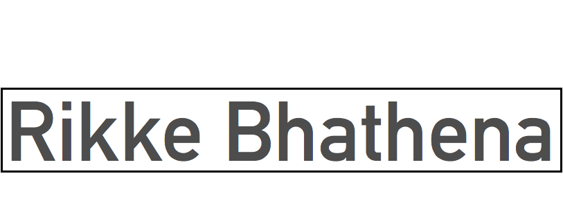 Rikke Bhathena