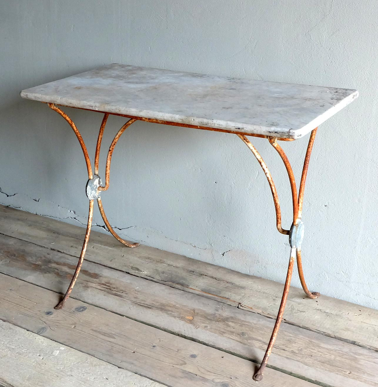 Marble Top Bistro Table; Marble Top Bistro Table ...