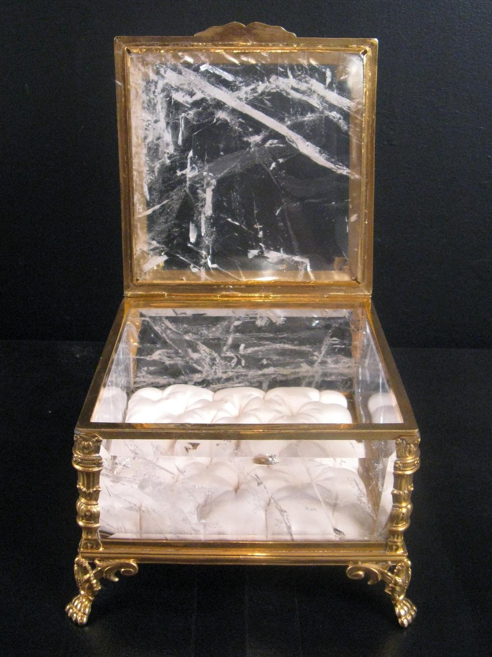 Rock Crystal Jewellery Box | TrendFirst