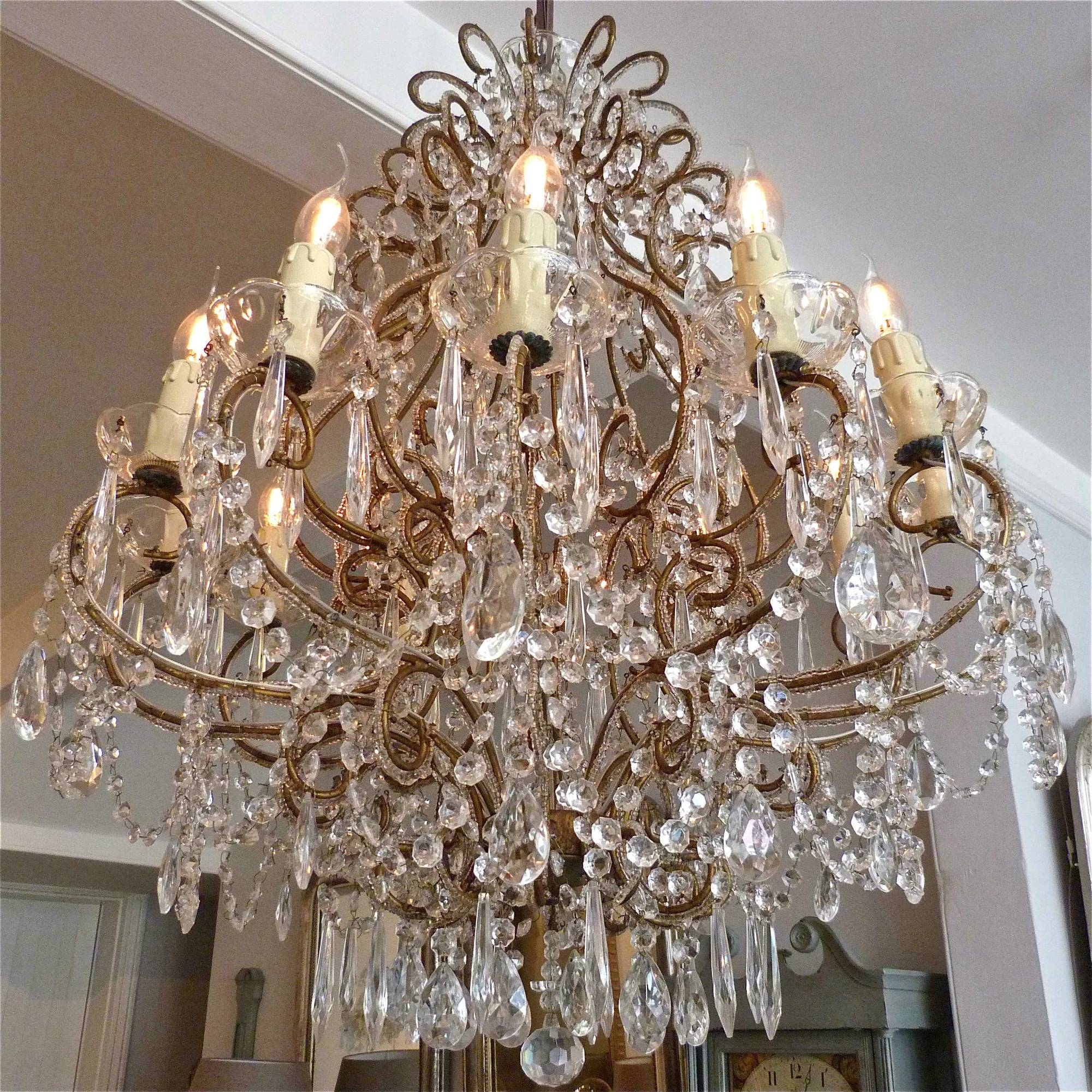 Pair of italian chandeliers trendfirst pair of italian chandeliers aloadofball Images