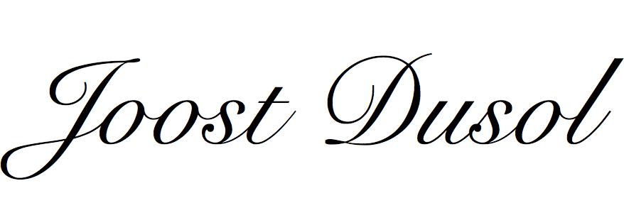 Joost Dusol