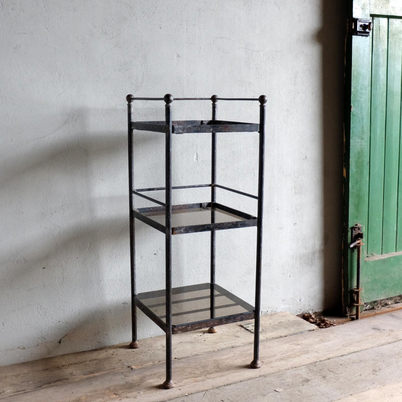 french metal etagere trendfirst. Black Bedroom Furniture Sets. Home Design Ideas