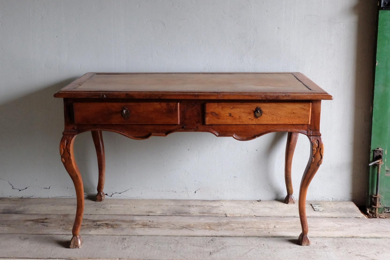 Old Wooden Desk ~ Antique cherry wood desk trendfirst