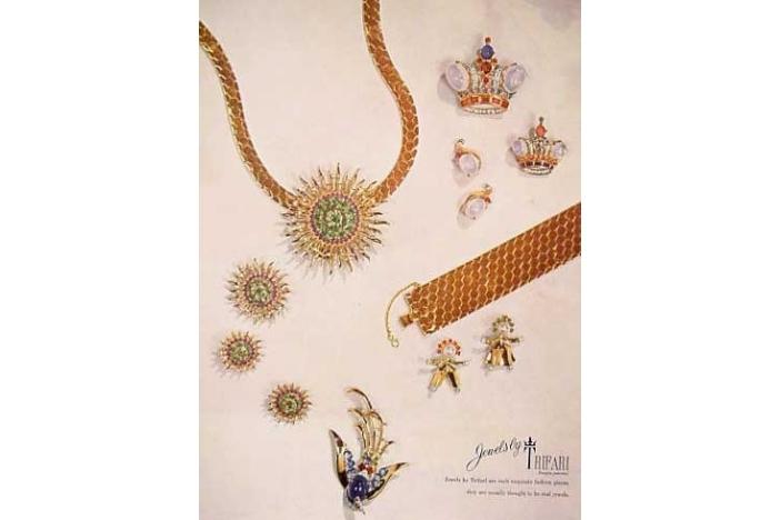 Trifari crown pin