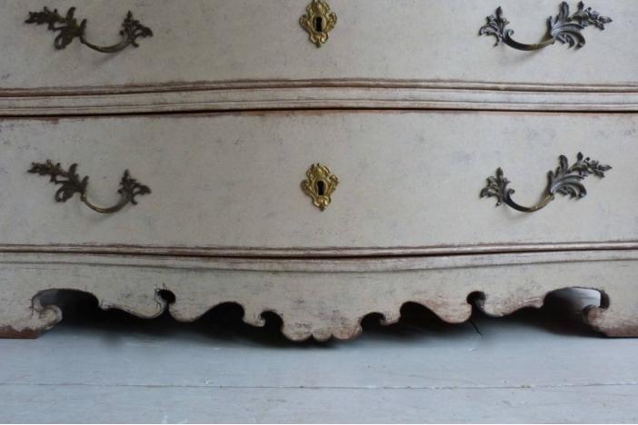 Rococo Period Serpentine Chest