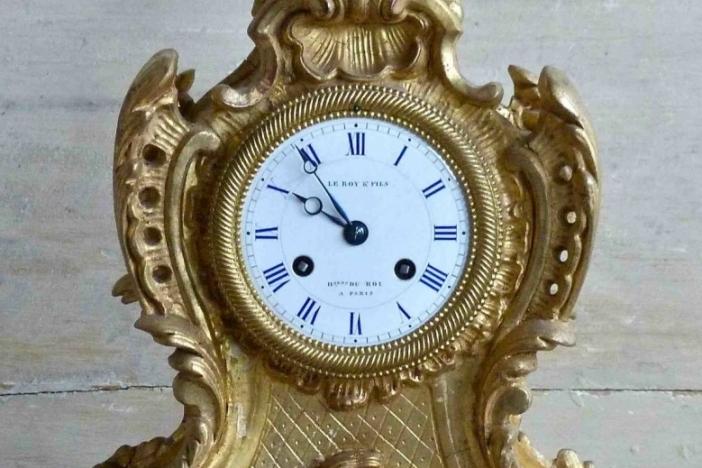 Le Roy et Fils Mantle Clock