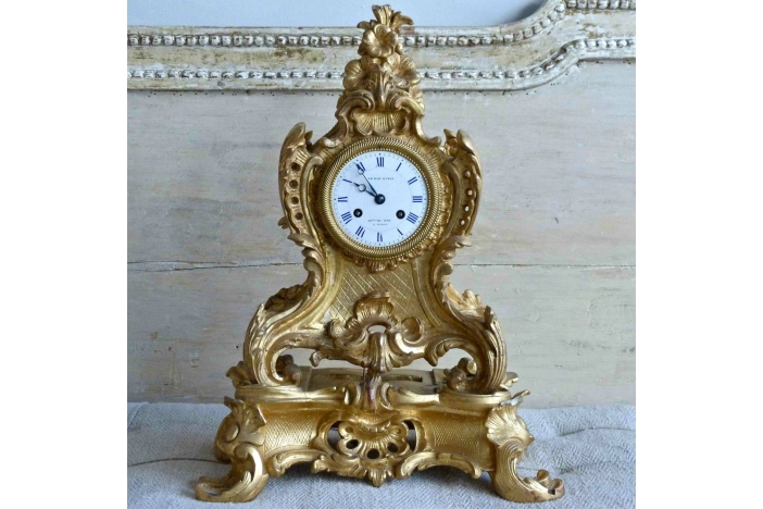 Le Roy et Fils Mantle Clock