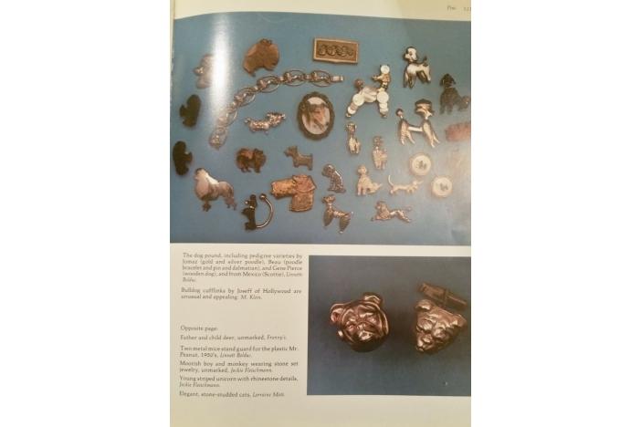 1950's poodle brooch