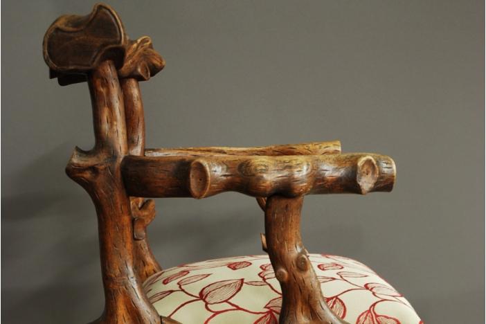 A 19th C. Elm Armchair
