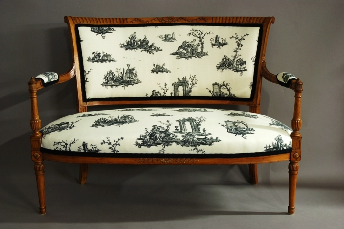 19thc French two seater sofa