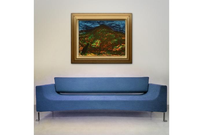 Malcolm Morley Devon Landscape