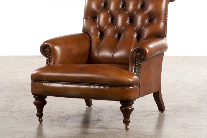 Pair of English armchairs