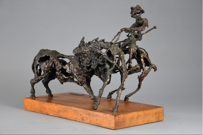'The Picador' bronze