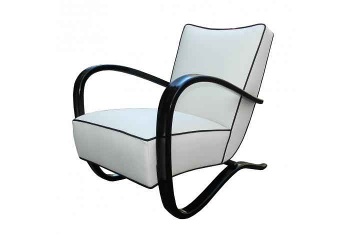 J. Halabala Art Deco armchairs