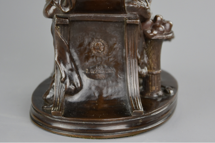 French bronze 'Penelope'