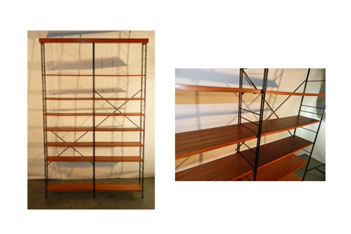 Pair Of 1960 High Shelves
