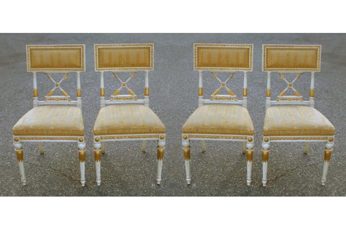 4 Swedish Chairs
