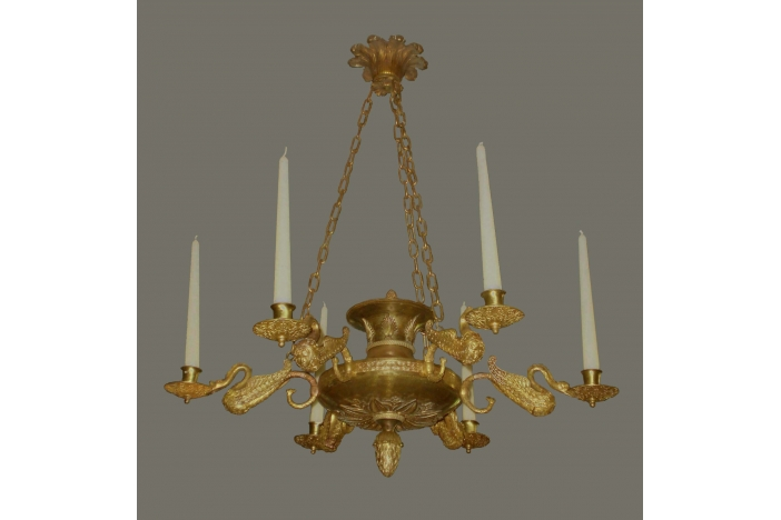 French ceiling chandelier