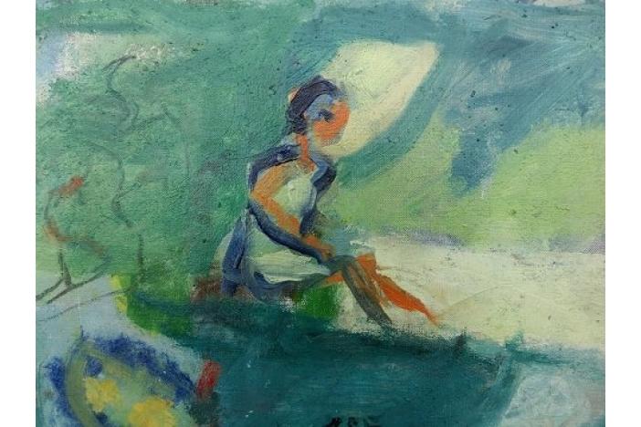 Painting by Erik Hoppe