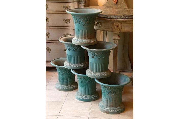 Iron Vases