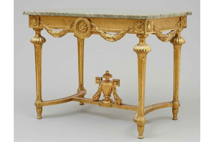 Gustavian Consol Table