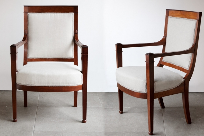Set of Four Armchairs c.1800