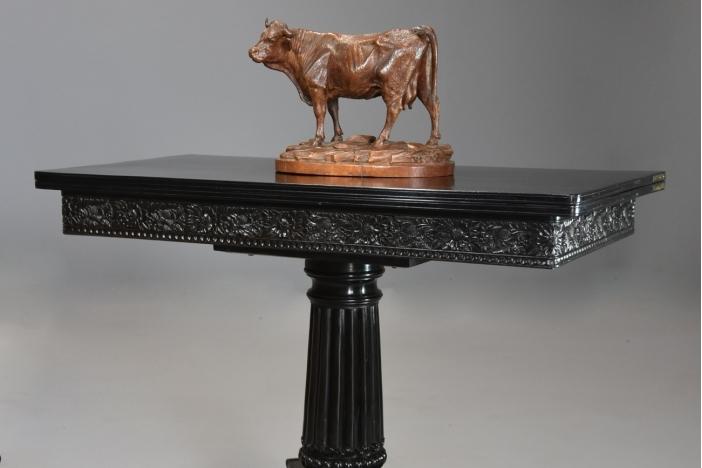 Rare Ceylonese ebony table