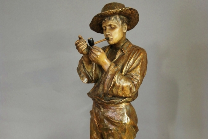 Goldscheider figure of Gaucho