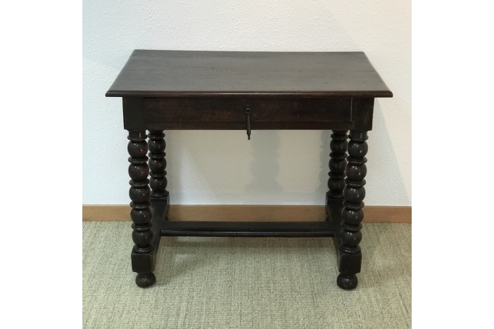 French Baroque Table, 17th