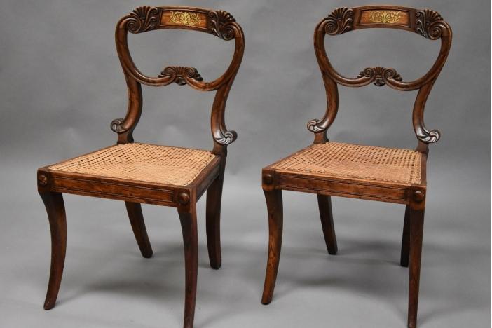 Pair of Regency chairs