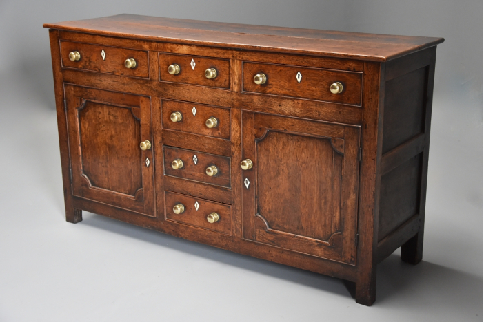 Late 18th/19thc oak dresser