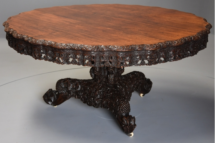 Large Anglo Indian table