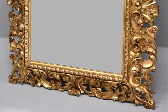 Large Florentine mirror