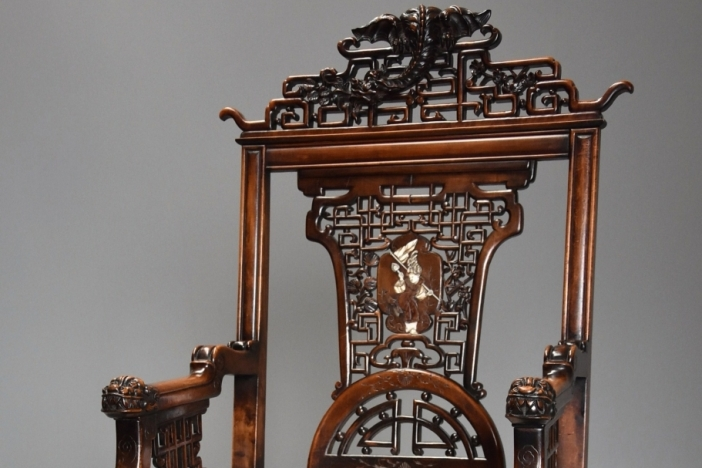 French Japanese style chair
