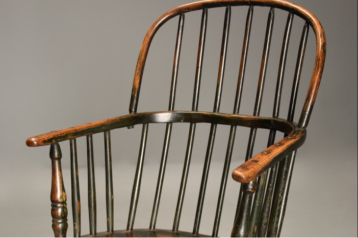 Ash hoop back Windsor chair