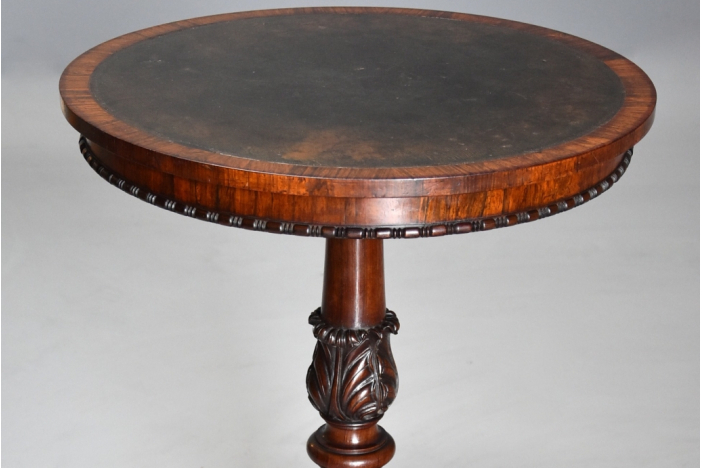 19th century rosewood table
