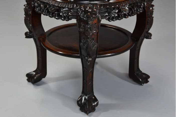 19thc Chinese pot stand