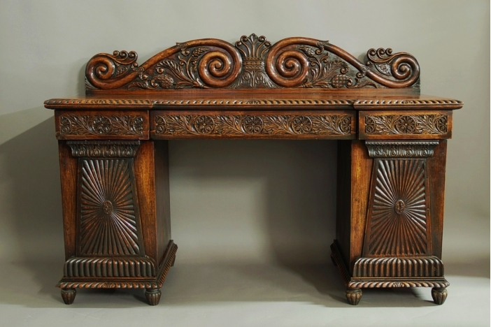 Anglo Indian padouk sideboard