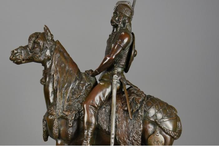'Gallic Horseman' bronze